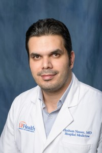 Dr. Hesham Nasser, Assistant Professor, Department of Medicine